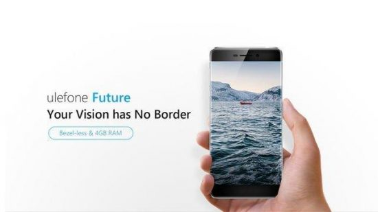 Bezel-less Ulefone Future now available for $269 after $10 discount [COUPON INSIDE] - 1