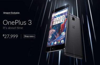 OnePlus 3 Specs & Pricing are official on Amazon India - 3