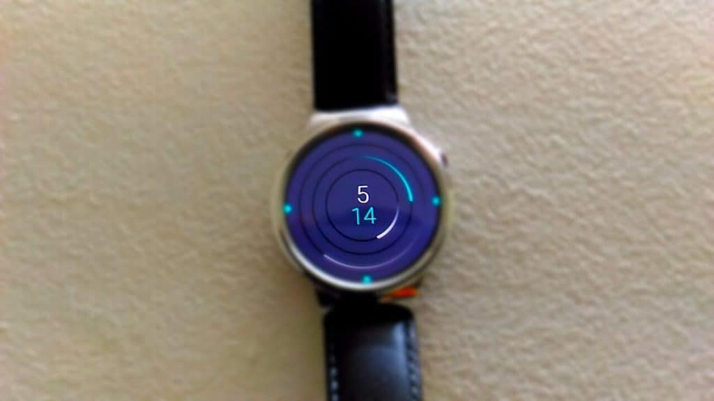 Huawei Watch - display -2