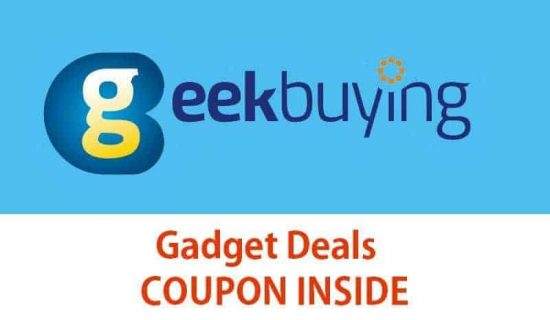 GeekBuying Deals: Offers on OnePlus 3, Le Max 2 Pro, Mi Tab 2 and more [COUPON INSIDE] - 1