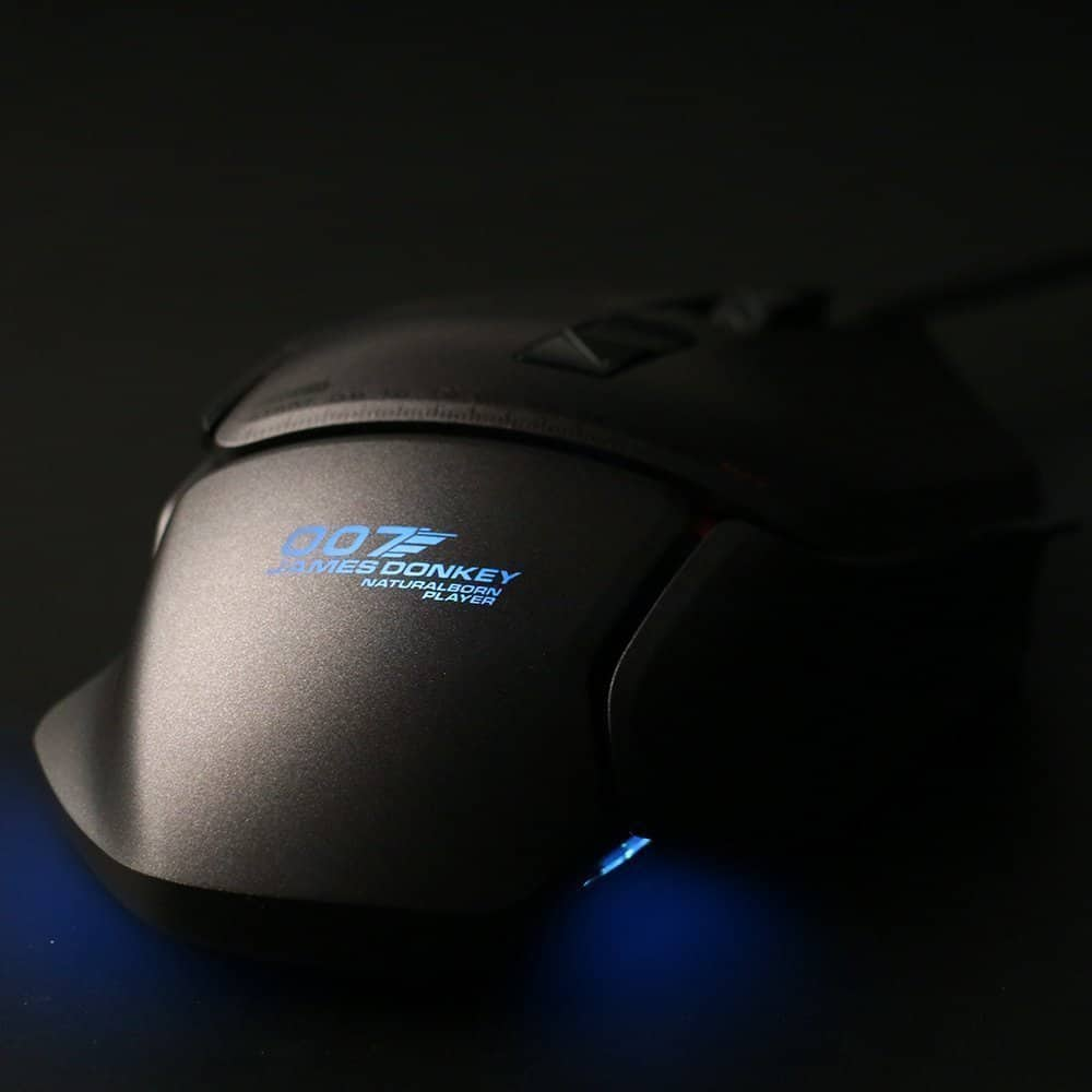 jamesdonkey 007 modular gaming mouse