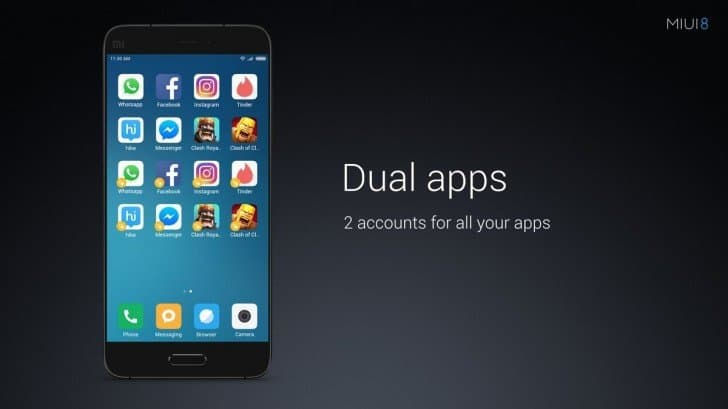 Dual apps: