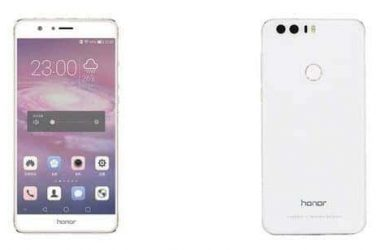 Huawei Honor 8 Render Surfaces On The Web - 2