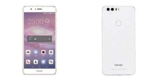 Huawei Honor 8 Render Surfaces On The Web - 1