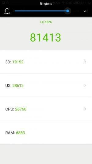 LeEco Le 2 AnTuTu Benchmarking Results - 11