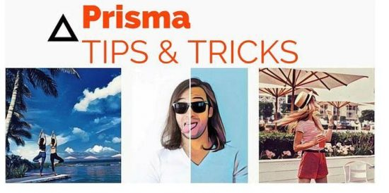 Prisma app for Android : Tips and Tricks - 1