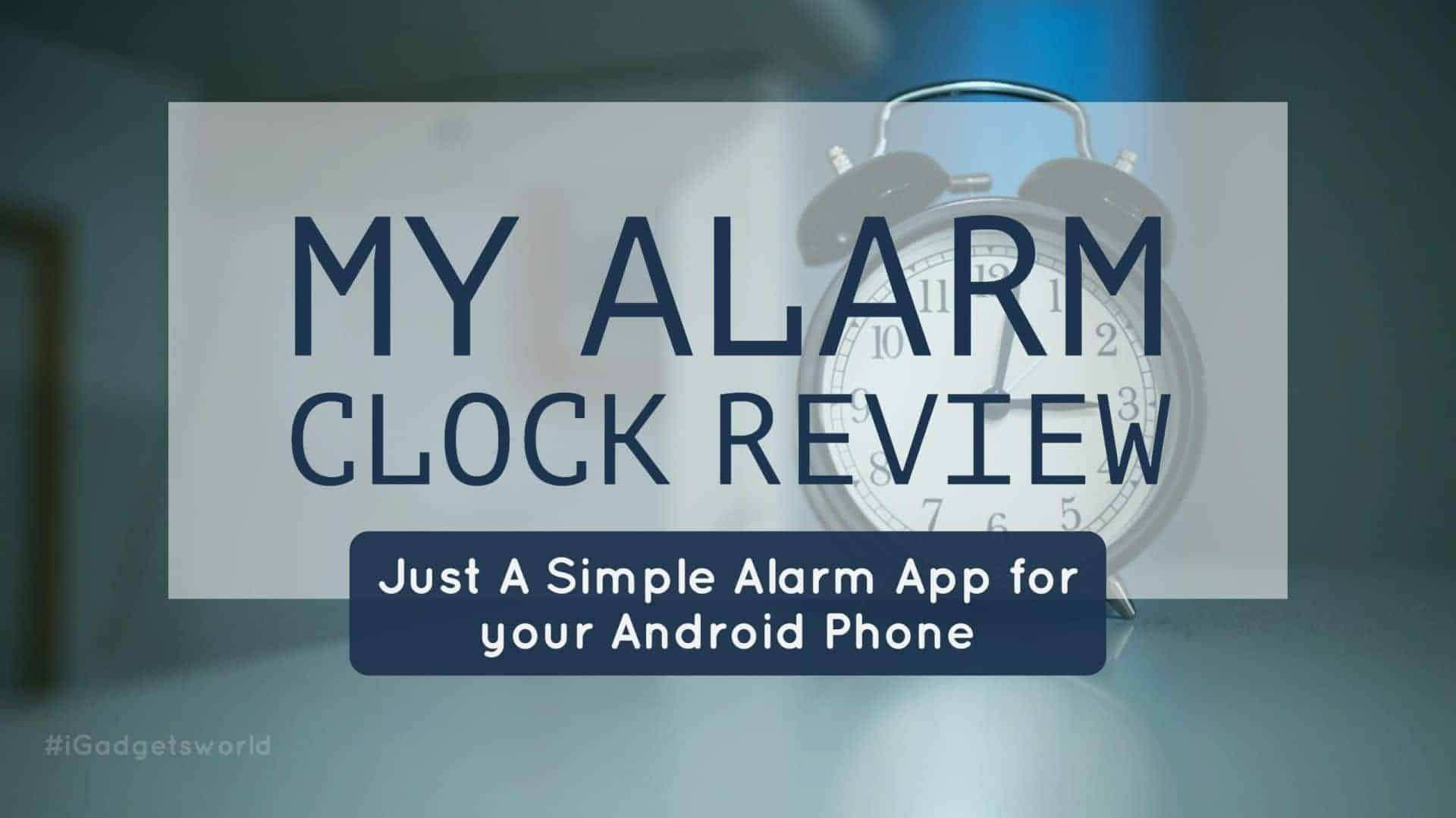 my alarm clock app review