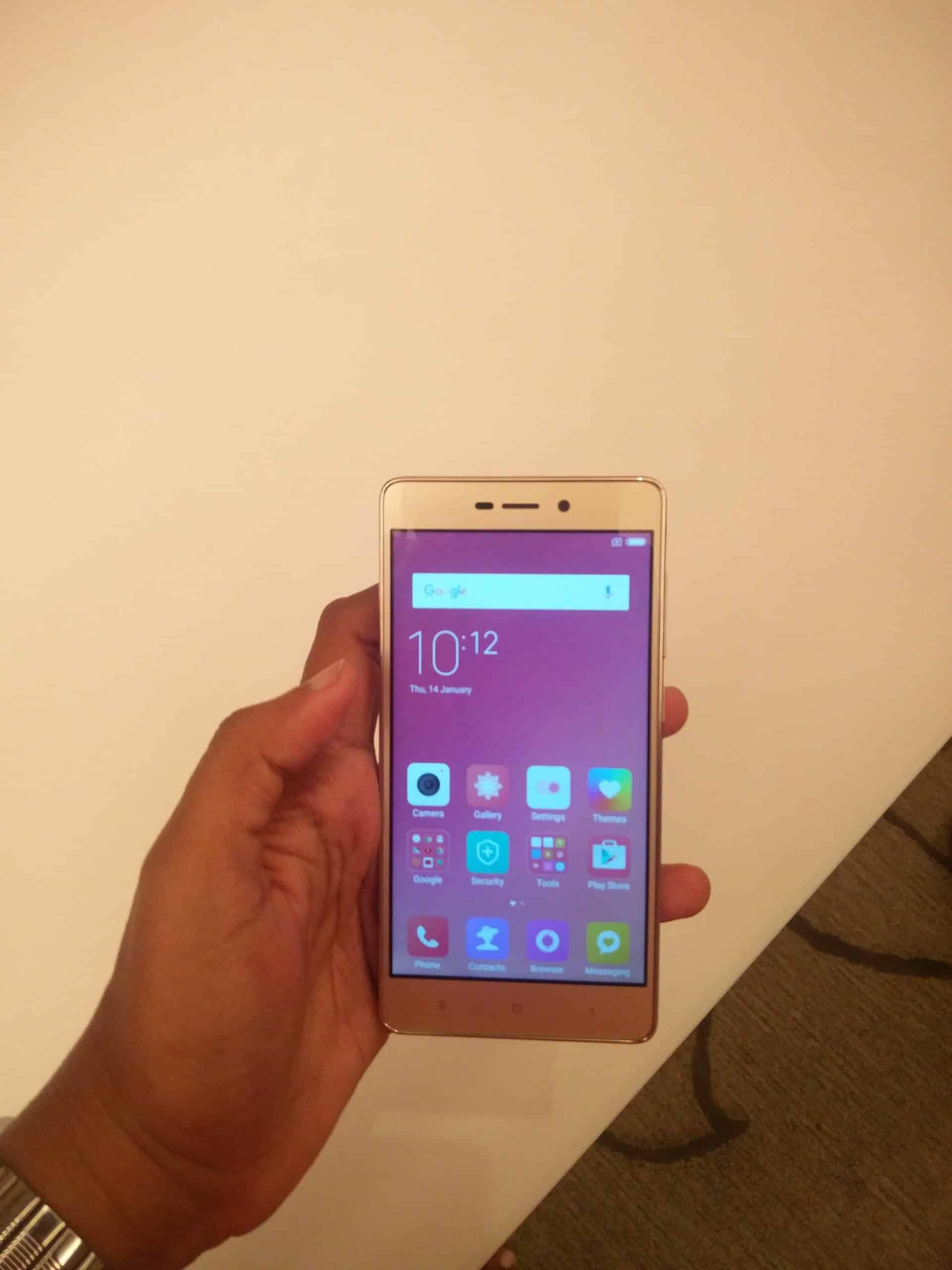 Redmi 3s Prime Launched In India At Rs 6999 And 8999 3gb 32gb Gold