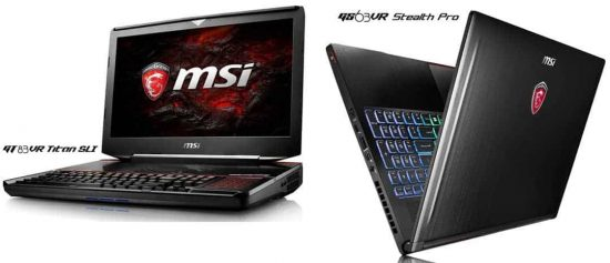 MSI Launches New Notebook Lineup With Nvidia GTX 10 Series - 1