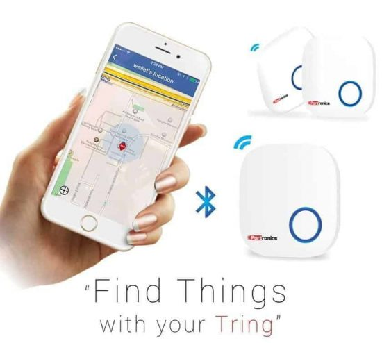 Often forget your keys or wallet? Tring is a solution for you - 1