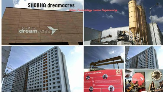 Sobha Dream Acres Project – understanding the Precast Technology, they are leveraging to build Townships - 1