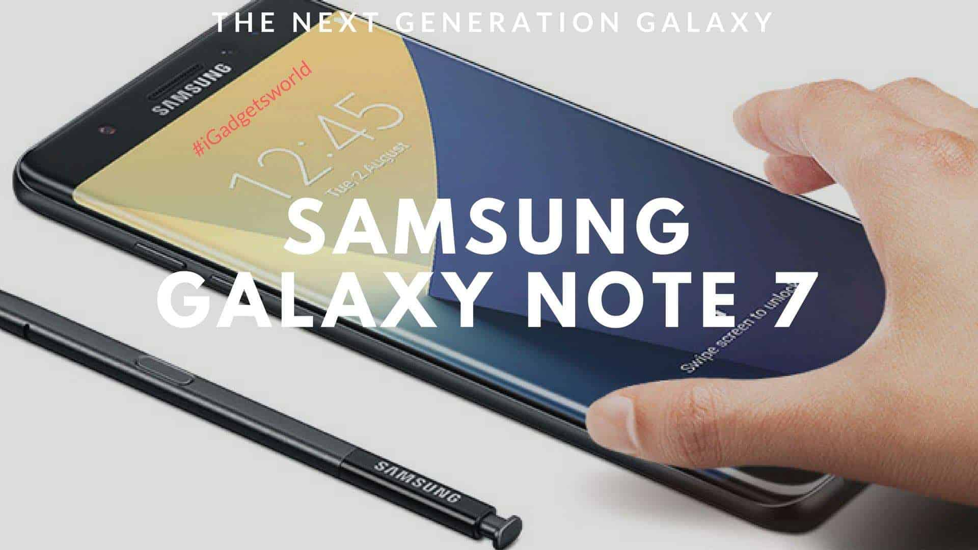Samsung-galaxy-note-7-specifications