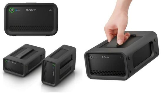 Sony introduces all new ultra-fast, rugged portable HDD RAID drives - 1