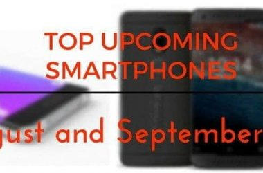 Top upcoming smartphones in August and September 2016 - 1