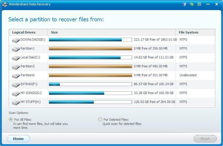 Wondershare Raw File Recovery