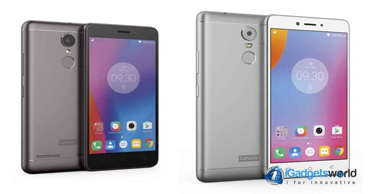 Lenovo K6 series announced