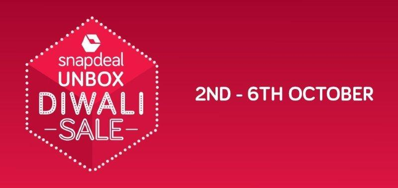 Snapdeal Unbox Diwali Sale