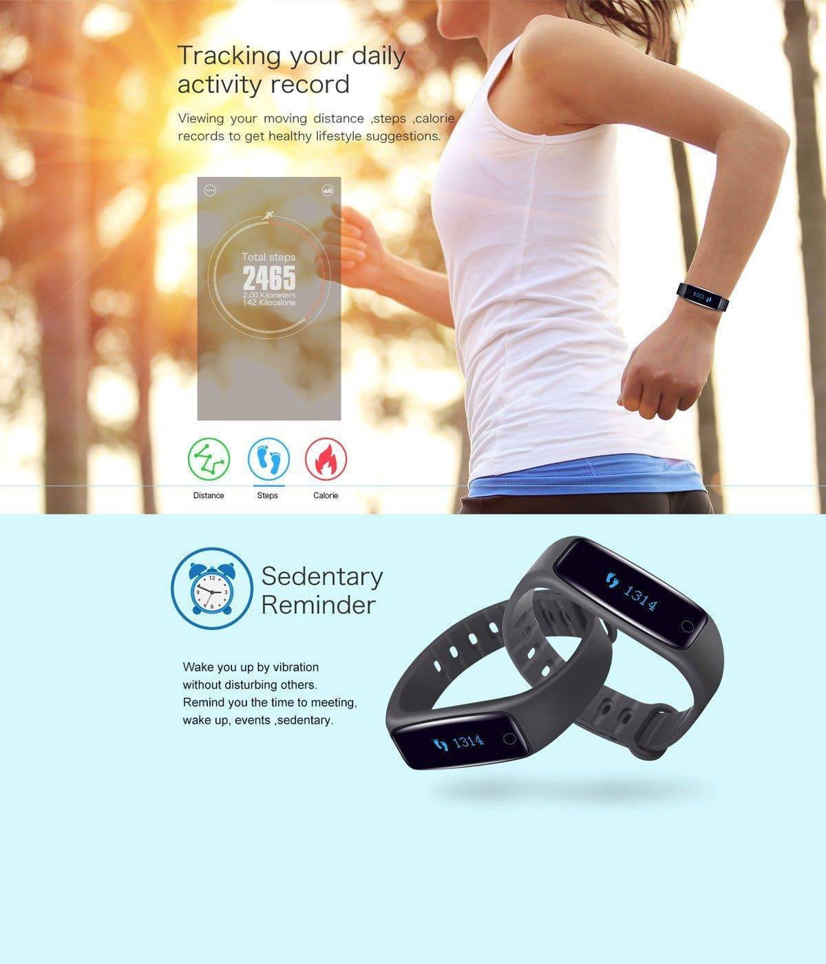 Teclast smart wristbands
