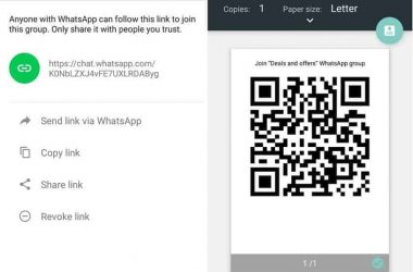 Latest WhatsApp Beta Gets the WhatsApp Group Invite Link Feature [APK DOWNLOAD] - 6