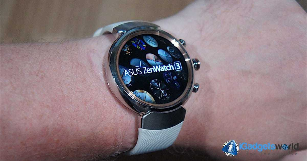 asus zenwatch 3 announced at ifa 2016 features price. Black Bedroom Furniture Sets. Home Design Ideas