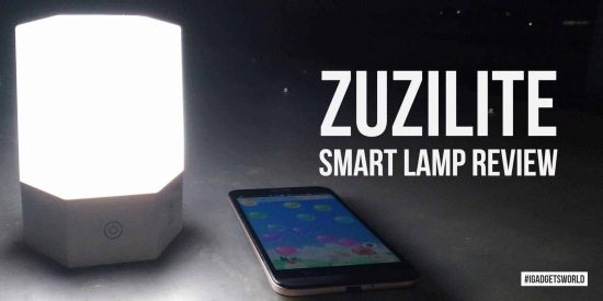 ZuziLite Review - A Wireless Smart Lamp With Interactive Features - 1