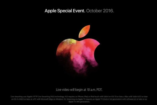 Apple MacBook Event - 2016: How To Watch Live Streaming? [YouTube Link Updated] - 1