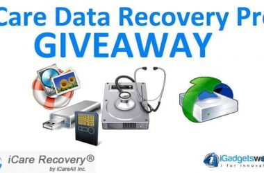Giveaway: iCare Data Recovery Pro [Unlimited Winners] - 15