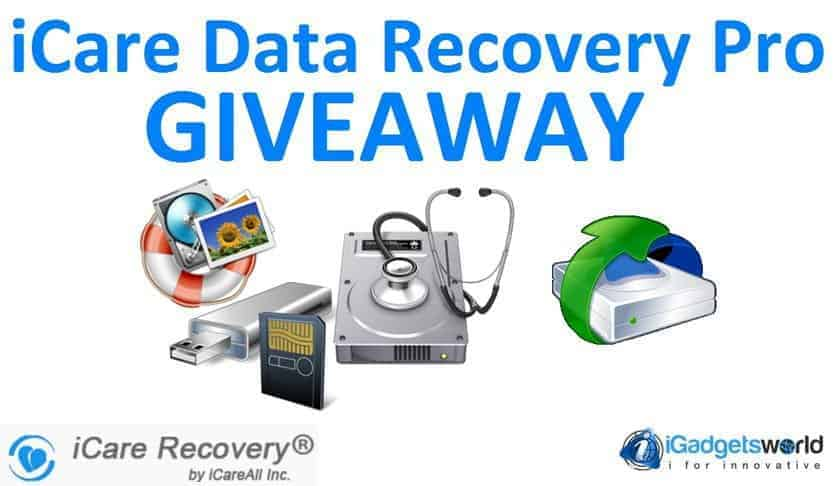 Giveaway: iCare Data Recovery Pro [Unlimited Winners] - 2