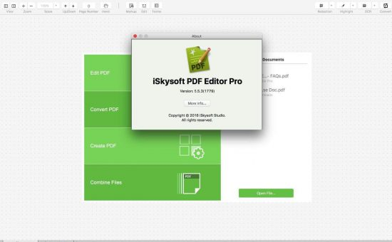 iSkysoft PDF Editor Pro for Mac Review - The Only PDF Editor You'll Ever Need for your Mac! - 1
