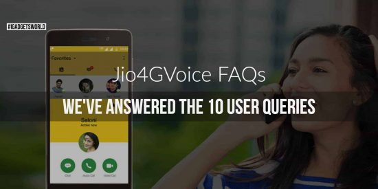 Jio4GVoice FAQs - The reinvented Jio Join App - 1