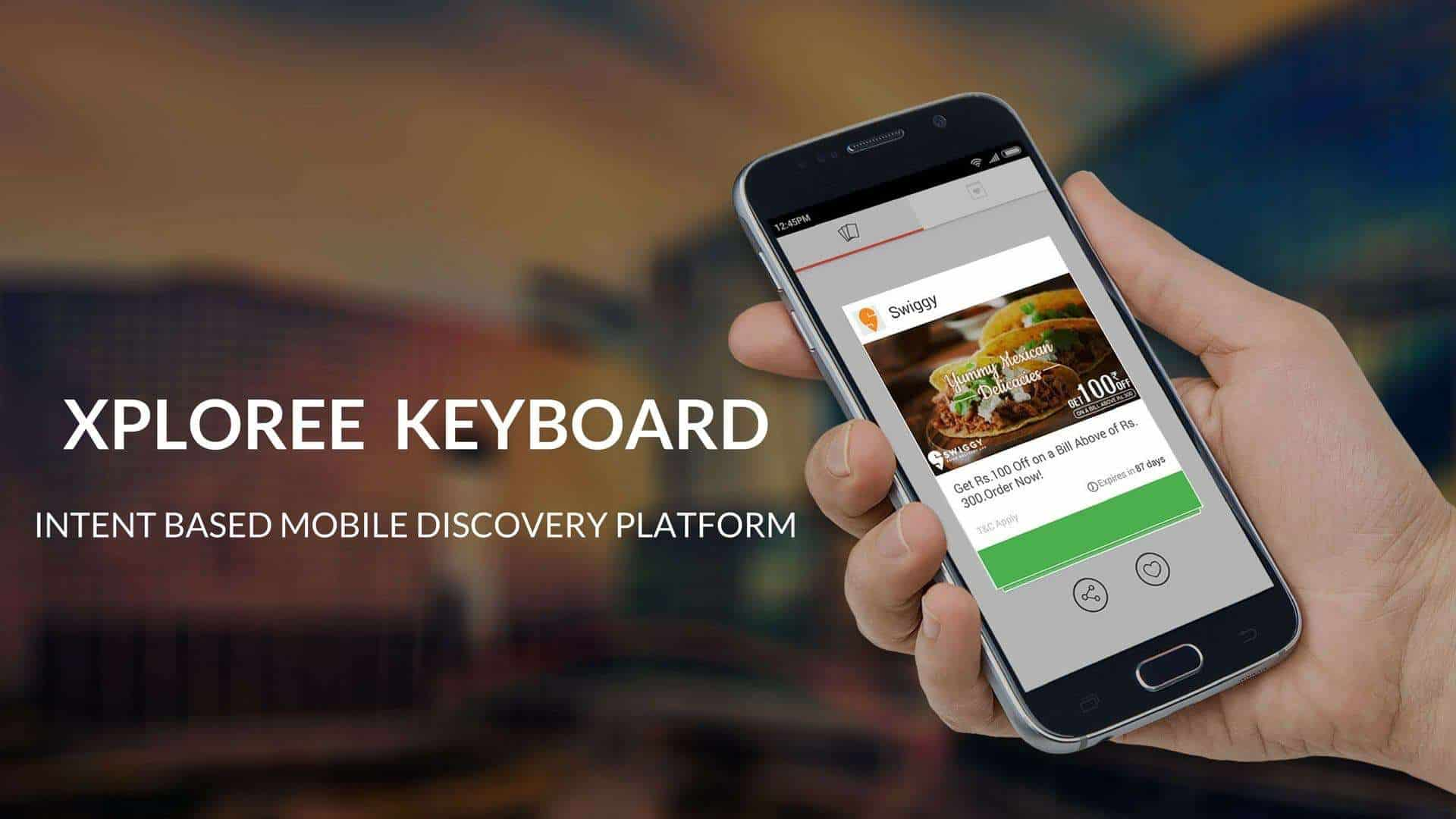 Xploree Keyboard