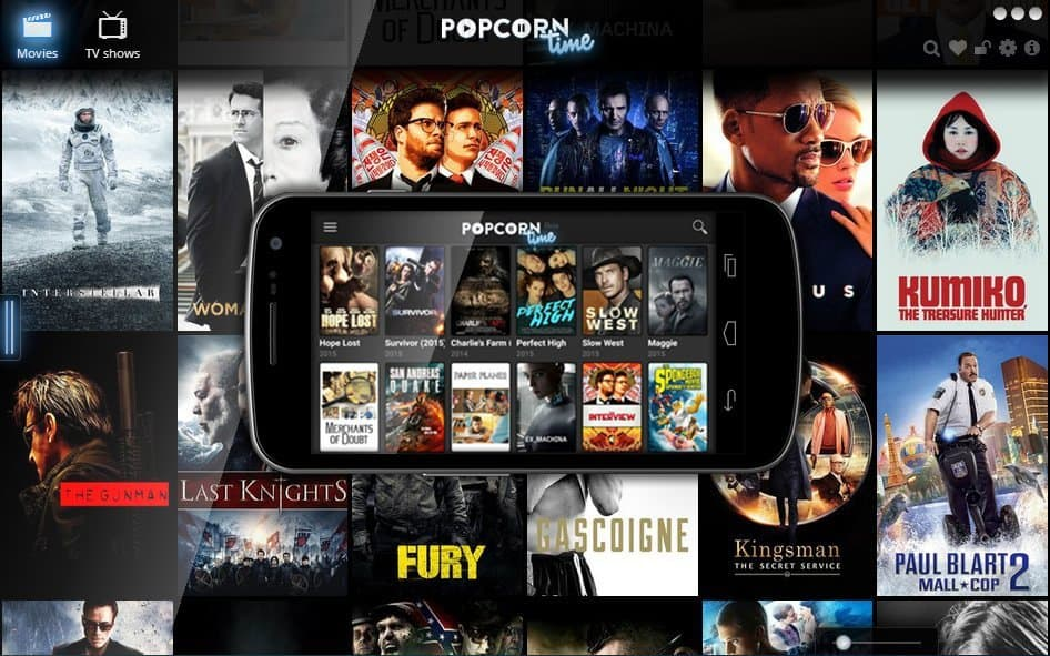 Entertainment – Popcorn Time