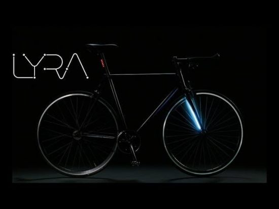 Introducing Lyra - A Smart Bicycle Featuring GPS & 360 Degree LED Lighting - 1
