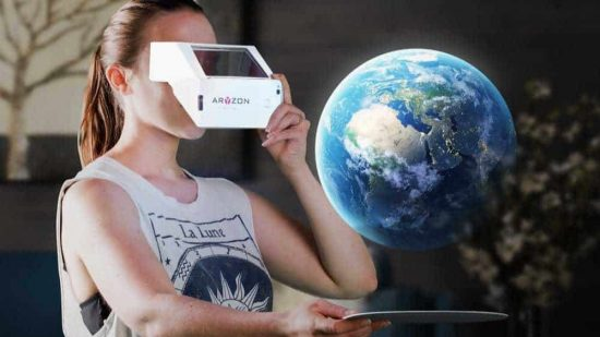 Aryzon - The Cardboard of 3D Augmented Reality for every Smartphone - 1