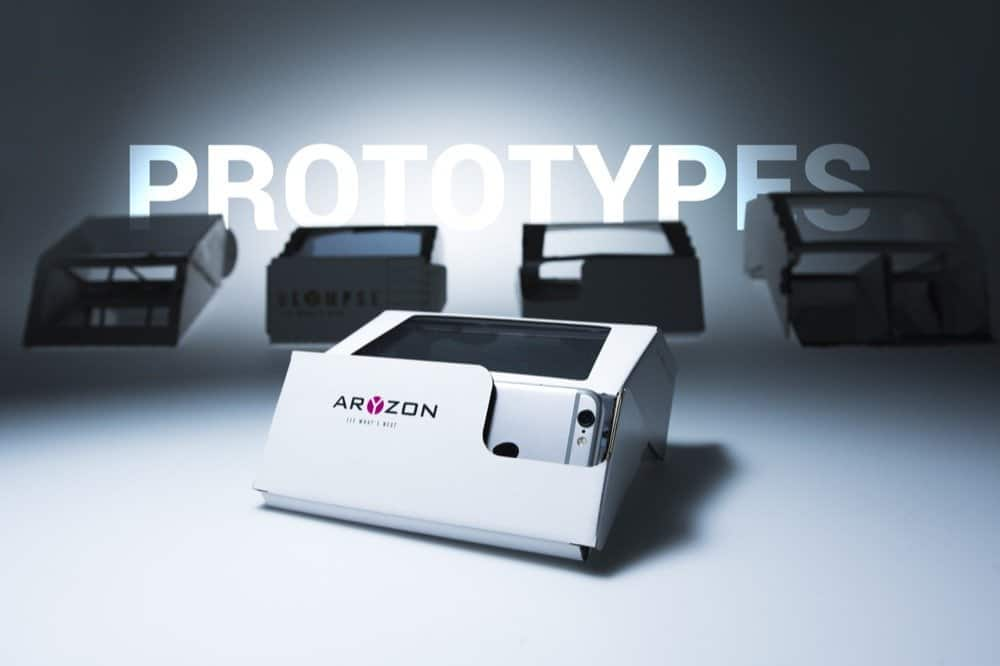 Aryzon - The Cardboard of 3D Augmented Reality for every Smartphone - 3