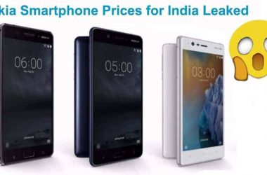 Nokia Smartphones Price Leaked: Starts from Rs. 9,990 - 9