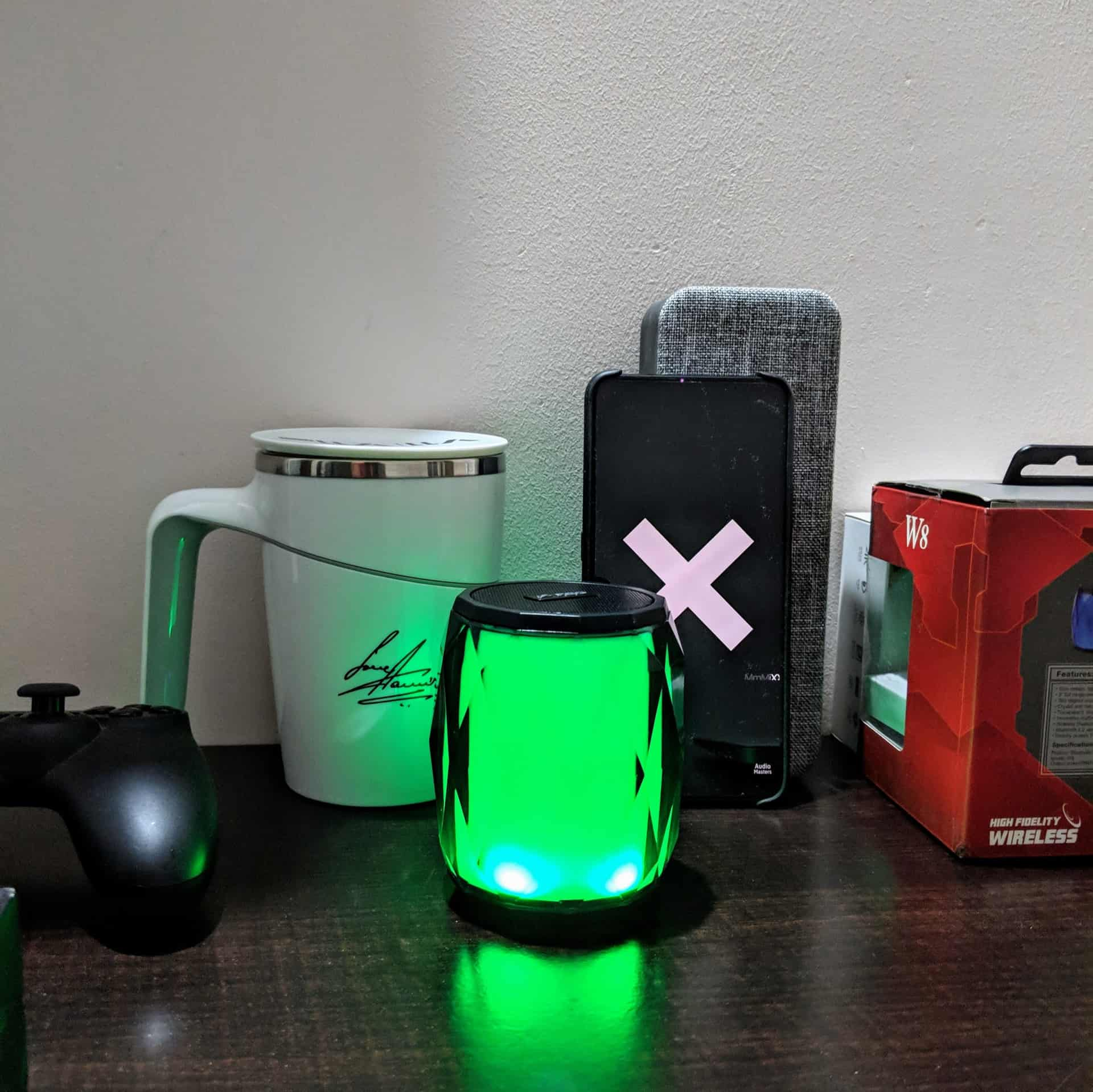 F&D W8 Portable Bluetooth Speaker Review - 8