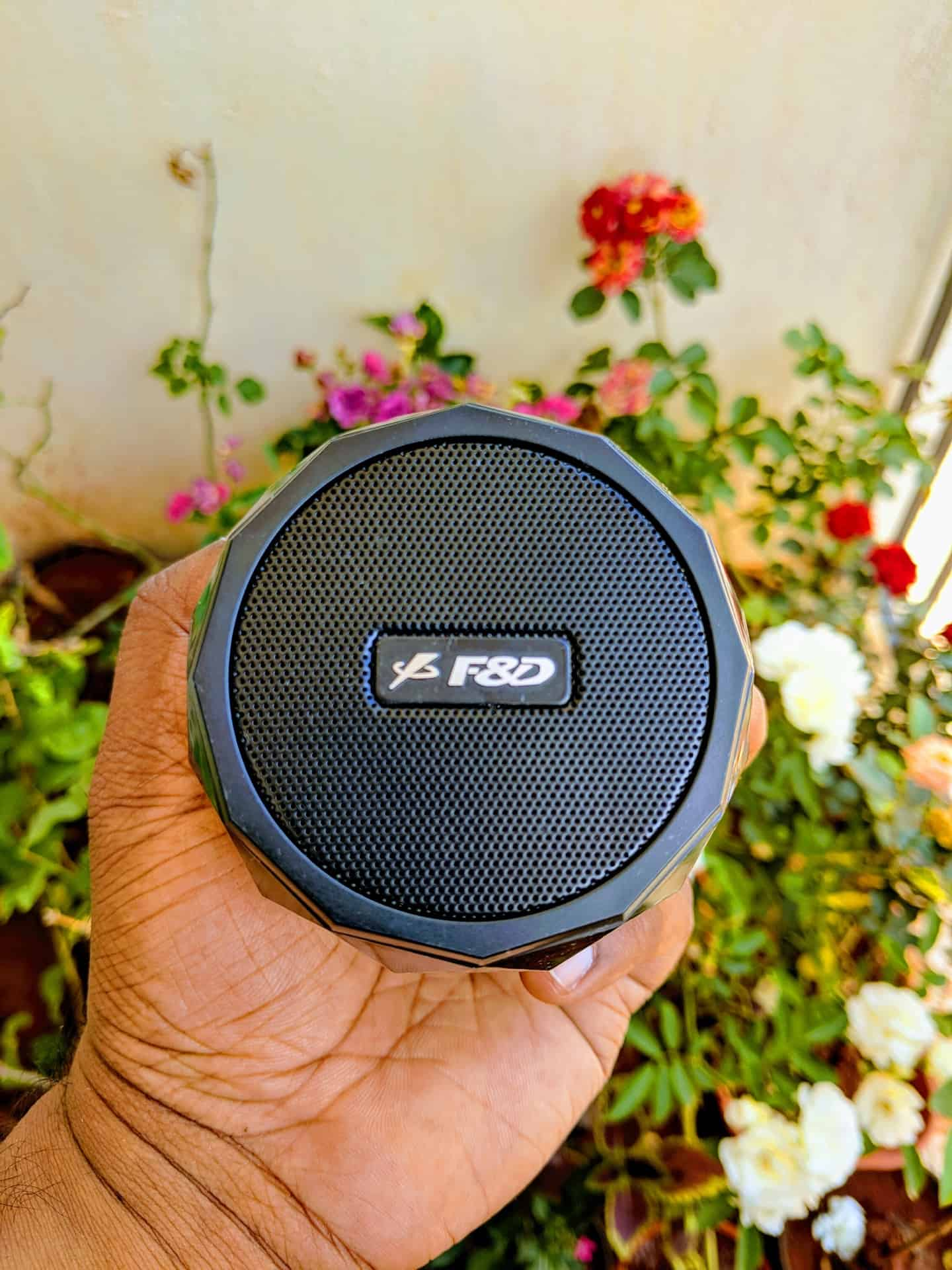F&D W8 Portable Bluetooth Speaker Review - 3