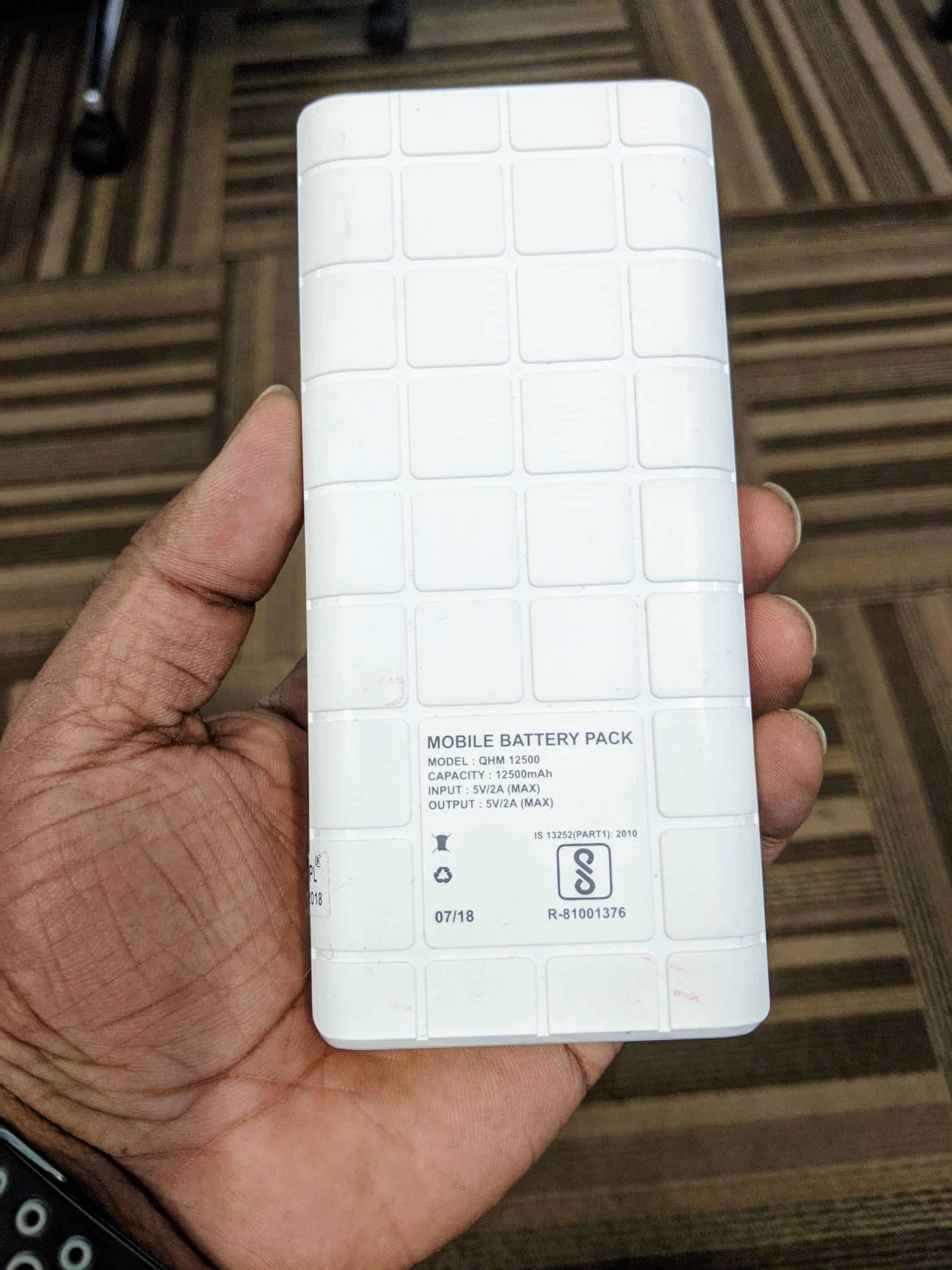 Quantum QHM 12500 mAh Powerbank Review - 4