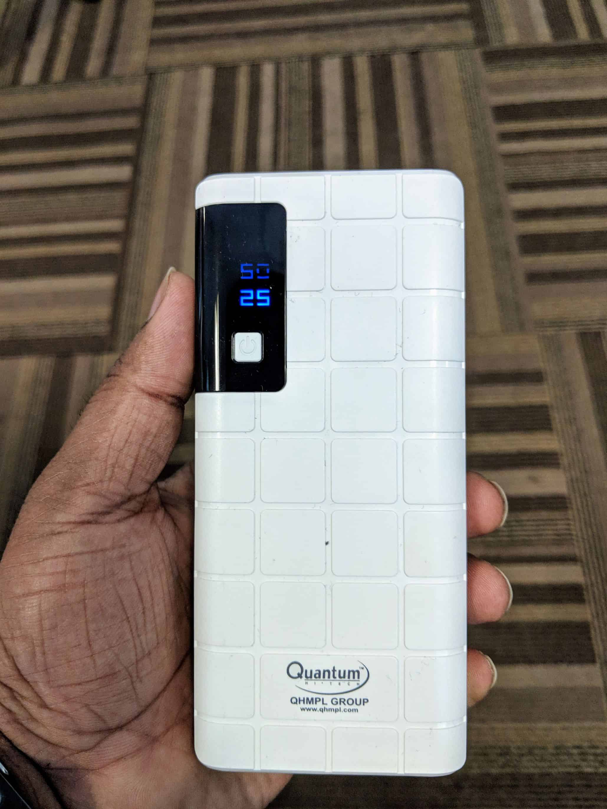 Quantum QHM 12500 mAh Powerbank Review - 1